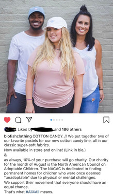 Cotton Candy Clothing Line Release