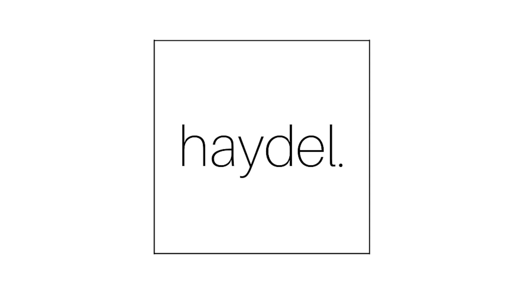 Haydel Branding Co. Intro