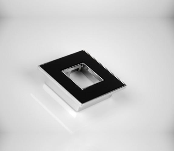 Cromo com preto