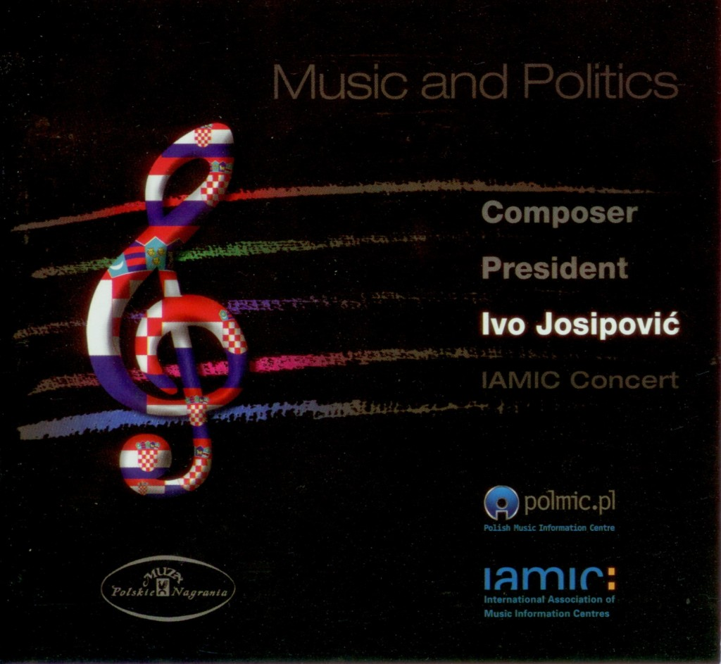 Ivo Josipovic Music and Politics