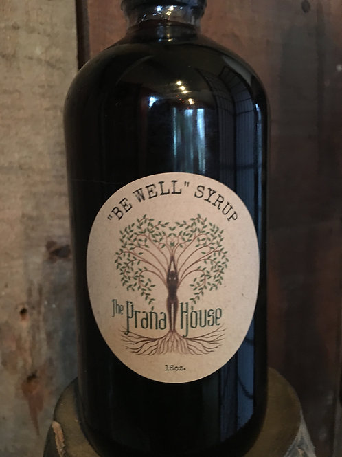 """Be Well"" Syrup 16oz"