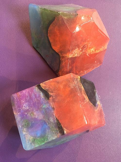 Fire Opal Soaprock