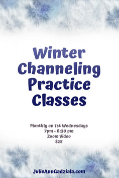 """Wednesdays: Channeling Practice Classes. """"Channel it! Give it wings! Let your spiritual side soar!"""""""