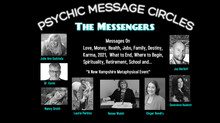 (12/11/20) Psychic Message Circles (via Zoom)Receive individual Messages from 4 Psychic Messengers!