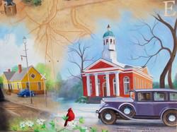 Gale Waldron Memorial Mural - 3a4s - Lassiter Alley - 12 Apr 18