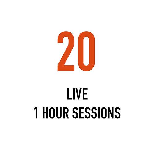 Twenty LIVE 1 Hour Sessions