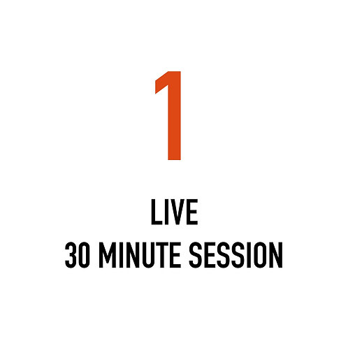 One LIVE 30 Minute Session