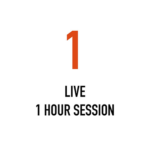 One LIVE 1 Hour Session