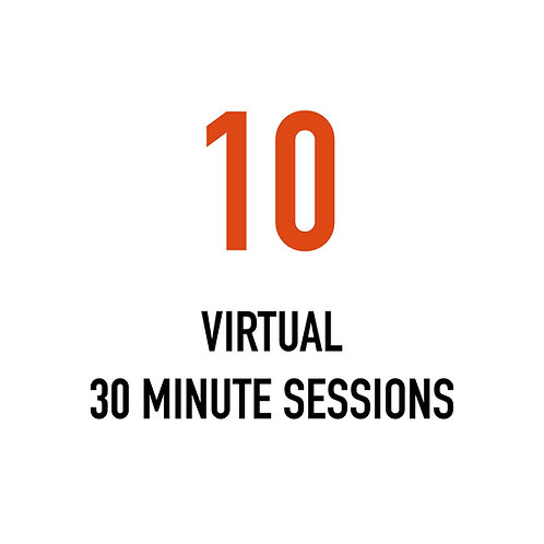 Ten VIRTUAL 30 Minute Sessions