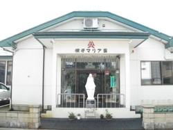 正面玄関聖母像