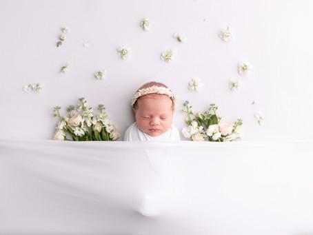 Callie's Newborn Session - With Jaemie Hillbish Photography
