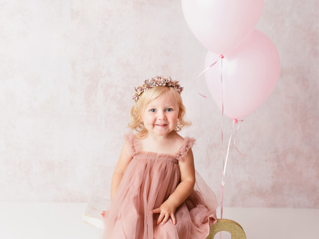 Tea for Two! Ruby's Second Birthday Photoshoot - With Jaemie Hillbish Photography