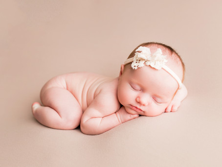 Caroline's Newborn Session - With Jaemie Hillbish Photography.