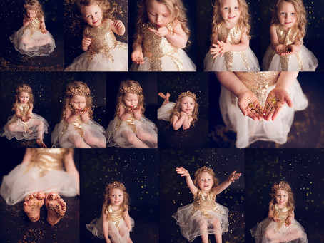 Leave a little sparkle everywhere you go! Glitter Session - With Jaemie Hillbish Photography.