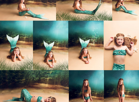 Under The Sea, Little Mermaid Limited Session - With Jaemie Hillbish Photography.