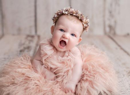 Gracie's Newborn Session - With Jaemie Hillbish Photography