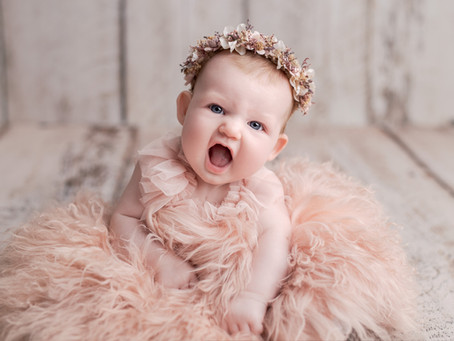 Gracie's Newborn Session - With Jaemie Hillbish Photography