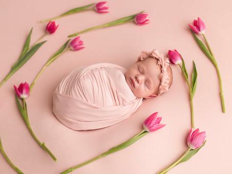 Welcome Baby MacKenzie, Newborn Session - With Jaemie Hillbish Photography.