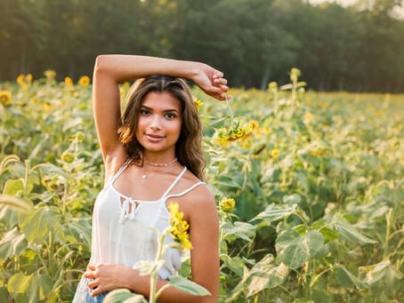Sunflower Mini Sessions - With Jaemie Hillbish Photography