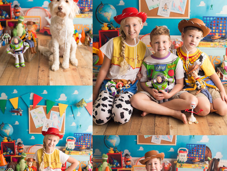 Toy Story Inspired Limited Session - With Jaemie Hillbish Photography.