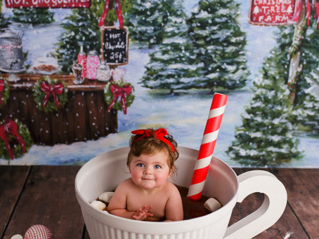 Jordan's Hot Cocoa Bath - With Jaemie Hillbish Photography