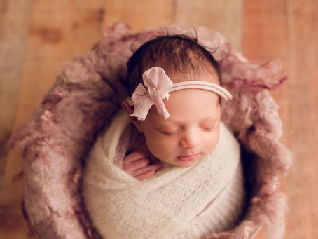 Nohelia's Newborn Session With Jaemie Hillbish Photography.