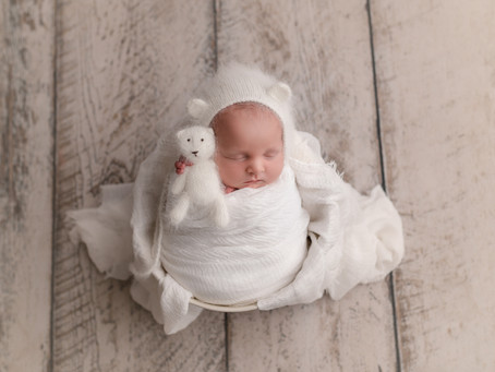 Colt's Newborn Session - With Jaemie Hillbish Photography.