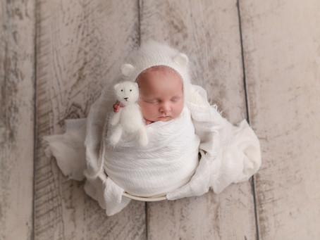 Colt's Newborn Session - With Jaemie Hillbish Photography.
