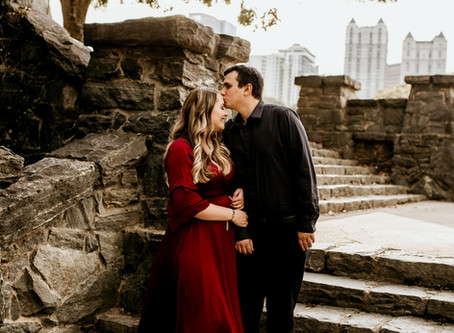 Lacey & Joseph's Engagement Session - With Jaemie Hillbish Photography.