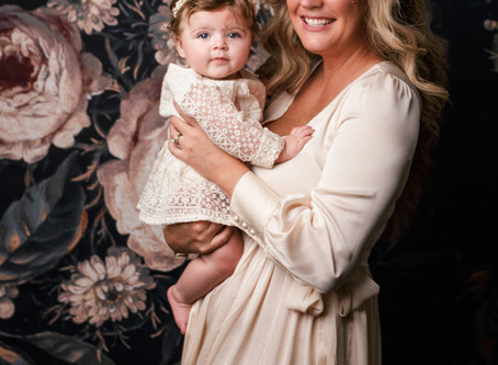 Beautiful Mommy and Me, Motherhood Session - With Jaemie Hillbish Photography