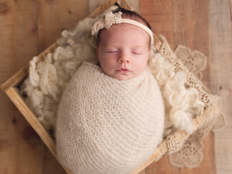 Ella's Newborn Session With Jaemie Hillbish Photography.