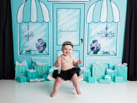Finley's Tiffany & Co. Cake Smash Session - With Jaemie Hillbish Photography.