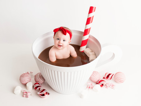 Caroline's Hot Coco Milkbath Session - With Jaemie Hillbish Photography.