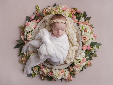 Hallie's Newborn Session - With Jaemie Hillbish Photography