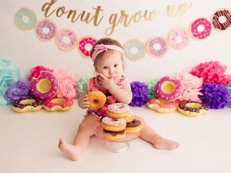 Donut grow up! Donut Smash Session -With Jaemie Hillbish Photography.