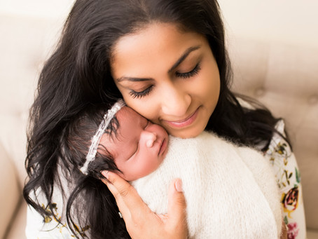 Ophelia's Newborn Session - With Jaemie Hillbish Photography.