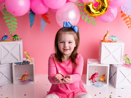 Aubree's Third Birthday Session - With Jaemie Hillbish Photography