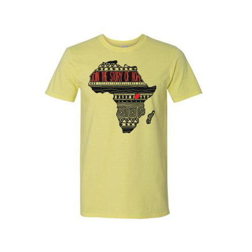 Join the Story of Hope T-Shirt - yellow