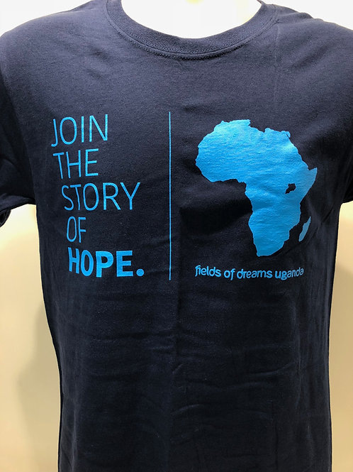 Join the Story of Hope T-Shirt - navy