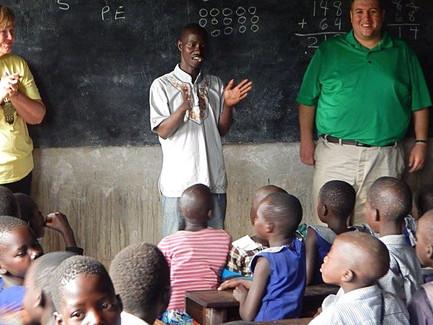 Teaching in Uganda