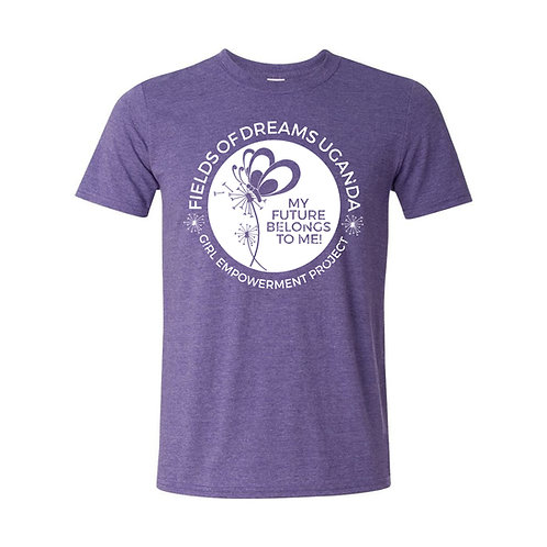 Girl Empowerment T-Shirt - purple