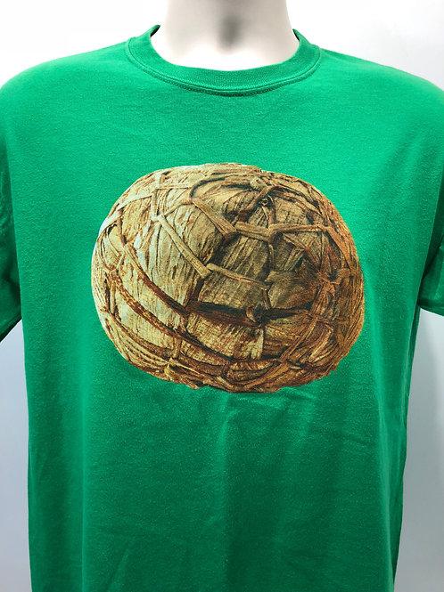 Banana-leaf Ball T-Shirt - green