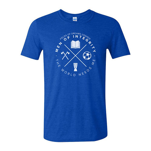 Men of Integrity T-Shirt - royal