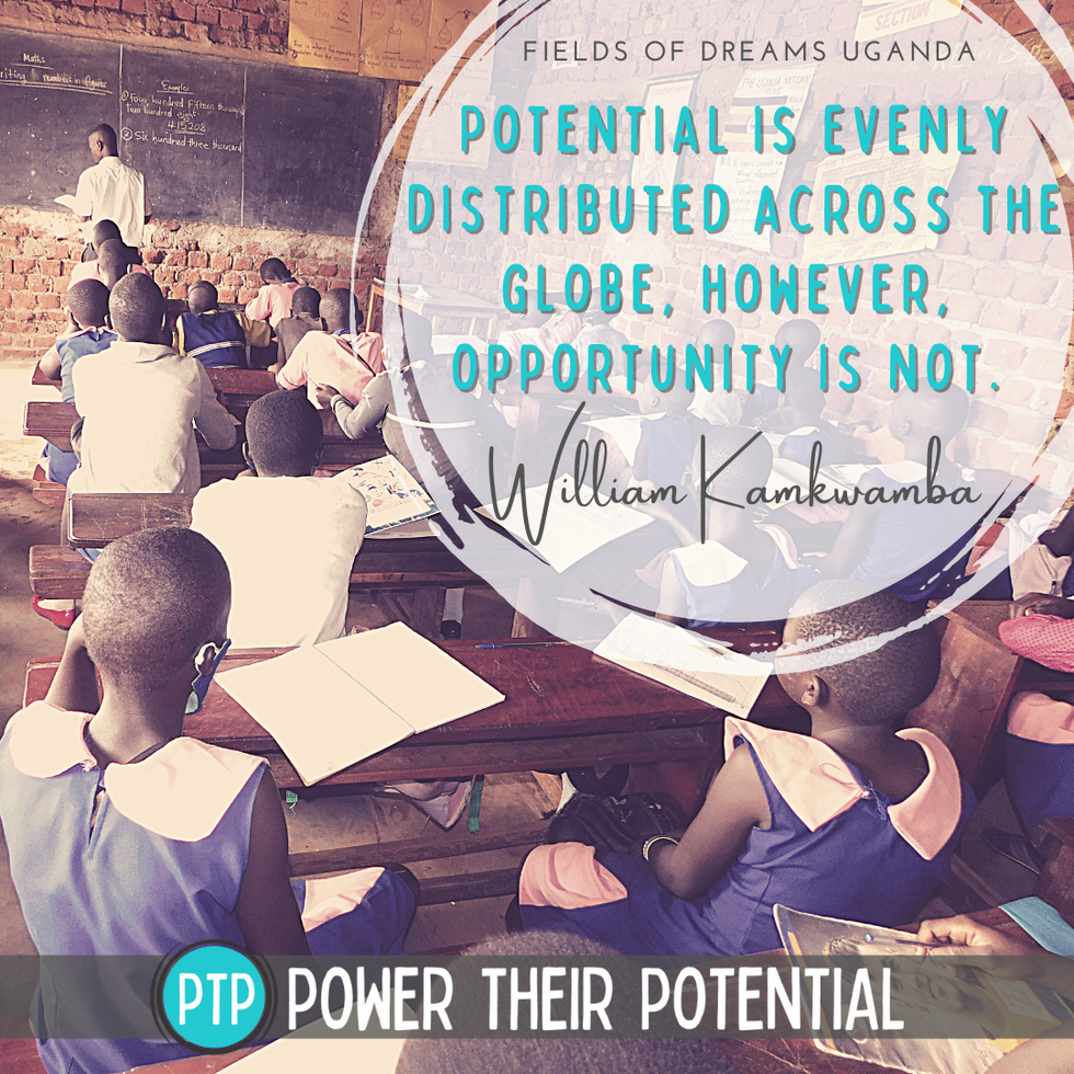Potential is evenly distributed across the globe, opportunity is not.