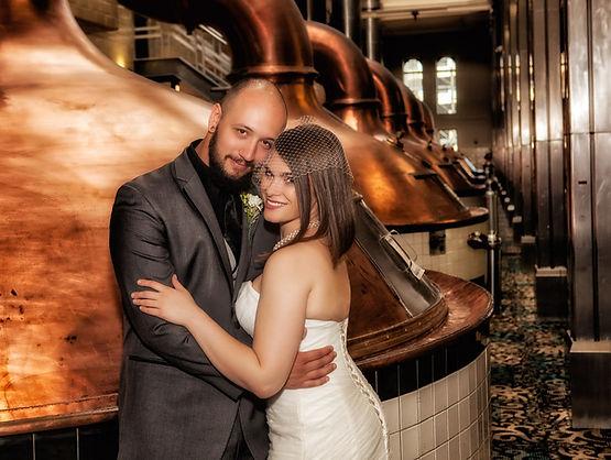 miller brewing wedding photography