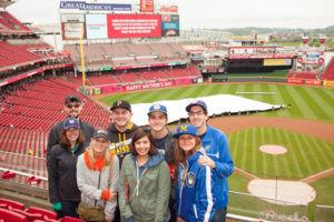 Group at great american ballpark