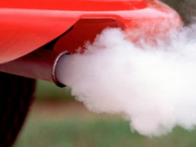 """Влияние """"ТС-16 ЭКО"""" на выхлопные газы. / Effect of """"TS-16 ECO"""" on exhaust gases."""