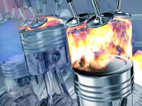 """Влияние """"ТС-16 ЭКО"""" на горение топлива. / The influence of the """"TS-16 ECO"""" for fuel burning."""