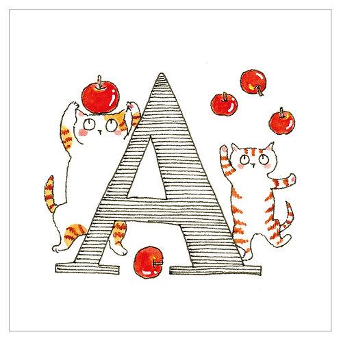 MAI TAKEWAKI's Alphabet series : A-2