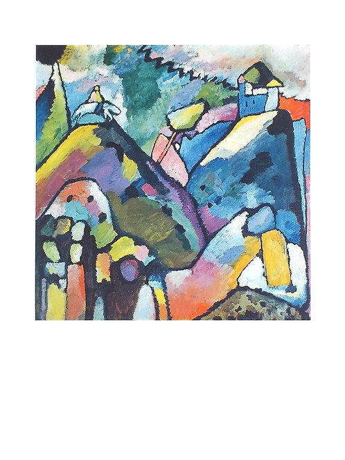 IMPROVISATION 9 / Wassily Kandinsky